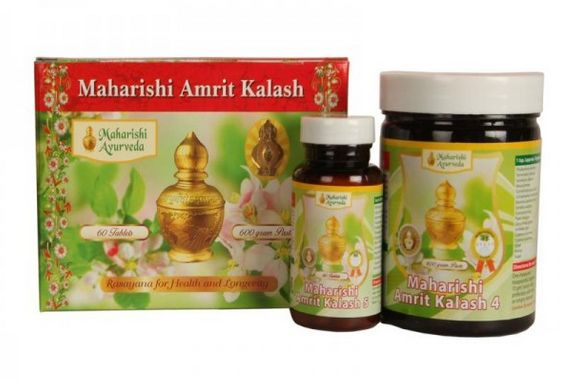 <B>AMRIT KALASH<br> (MA4 + MA5)</B><BR>AGA - NECTAR PASTE - 600 grs<BR>AMBROSIA - 60 Tablets<BR>1 MONTH Treatment